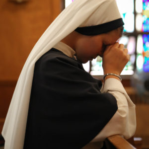 sr. jordan rose praying