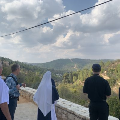Overlooking Judean Countryside - Ain Karem